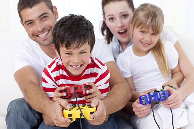 Parents, Children, Video Games